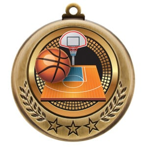 stock basketball medals