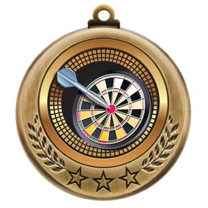 dart tournament medals