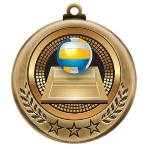 beach volleyball medals