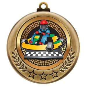 cart driving medals