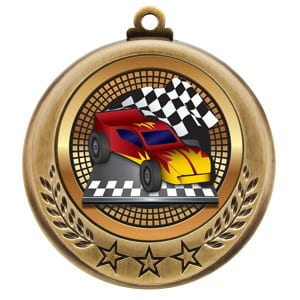 auto racing medals