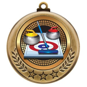 curling medals