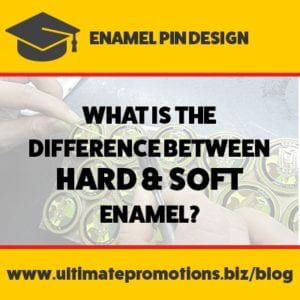 enamel pin difference hard and soft enamel
