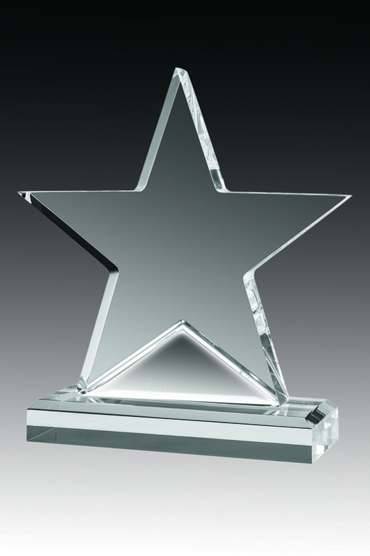 star acrylic plaque