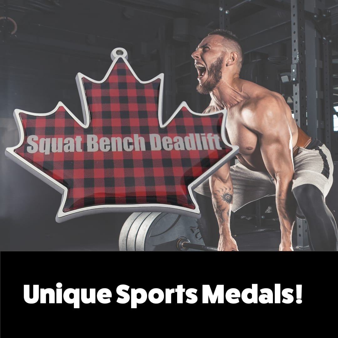 weightlifting and powerlifting medals