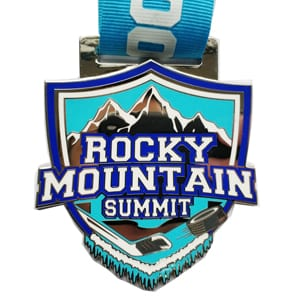 Rocky Mountain Summit Custom medal