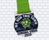 custom virtual running race medals