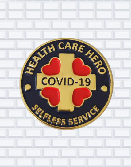 covid hero award pins buy online