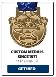 custom medals no minimum